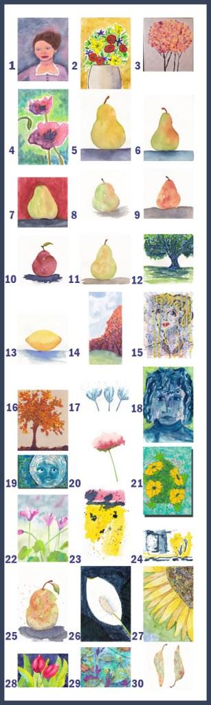 30 Days of Art September 2013