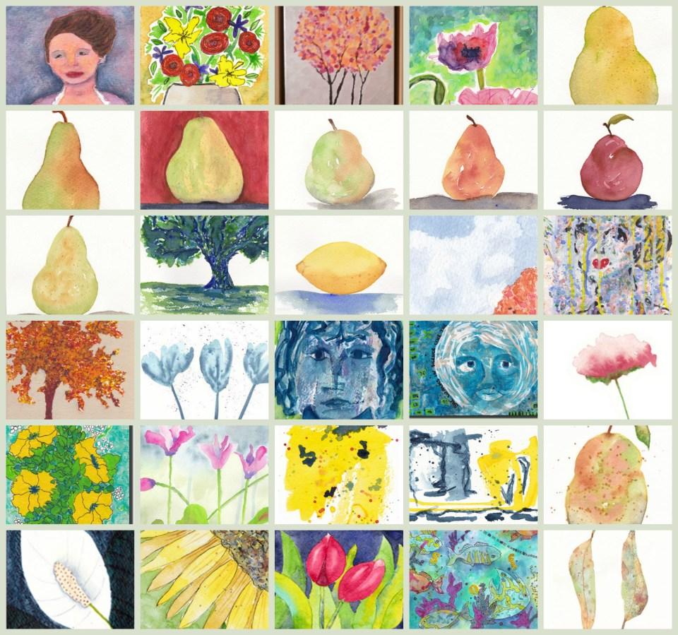 30 Days of Art, September 2013 ~ Sheila Delgado