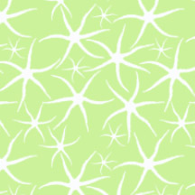 Sand Star Swarm, Demouse. Available in fabric, decals, gift wrap and decals.