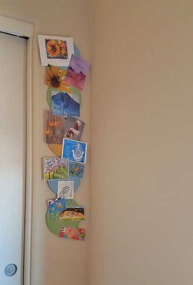 Ahhh... art on the wall!