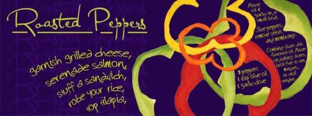 Roasted Peppers, © 2012 Sheila Delgado
