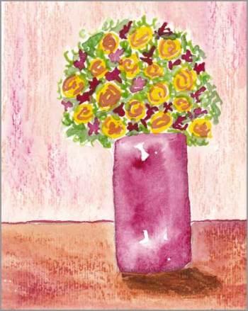 #20 WWM. 4 x 5.5 in. watercolor on Strathmore 140 lb. cold pressed paper. © 2018 Sheila Delgado.