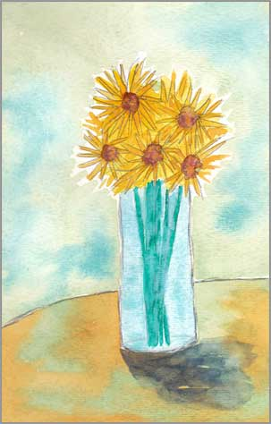 #5 WWM. 5.5 x 8 in. watercolor on Strathmore 140 lb. cold pressed paper. © 2018 Sheila Delgado.