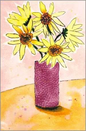 #9 WWM. 5.5 x 8 in. watercolor on Strathmore 140 lb. cold pressed paper. © 2018 Sheila Delgado.