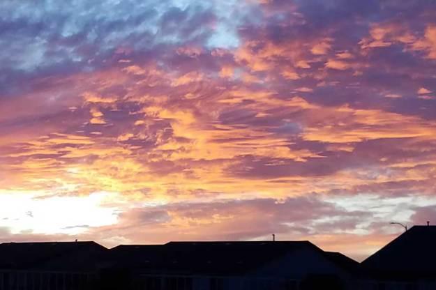 Arizona Sunset. 11-11-19. © 2019 Sheila Delgado.