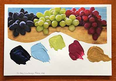 Laurie Sayward Grapes