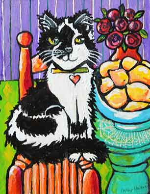 Teresa Harrington Hazelbaker, Cat