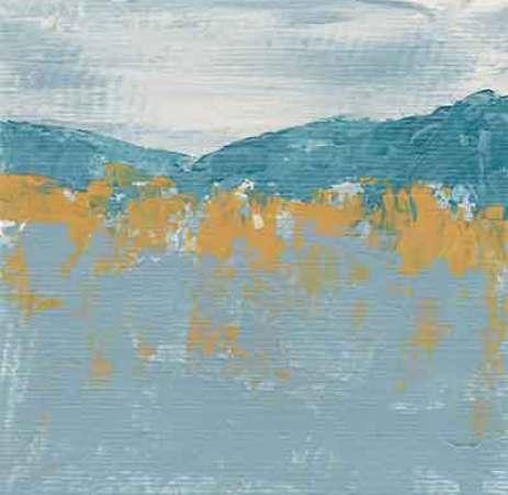 Day 5, Acrylic on 6 x 6 Paper. © 2021 Sheila Delgado.