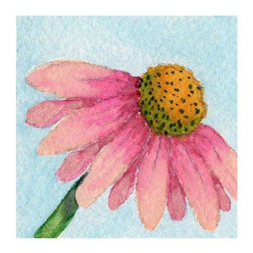 Day 5, WWM, 2 x 2 inch watercolor on Arches 140 lb. cold pressed paper. © 2021 Sheila Delgado.