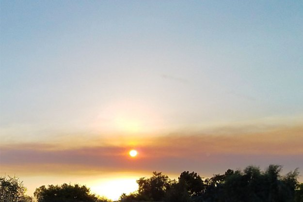 Smoke Over Phoenix, 7-1-21. SMDelgado