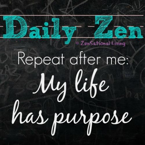 Daily Zen purpose