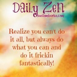 28 Daily Zen Posters Sheila M Burke