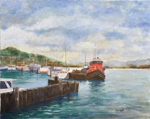 Red Tugboat Sausalito