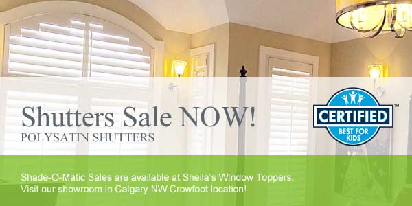 Shutter Blinds Sale Calgary
