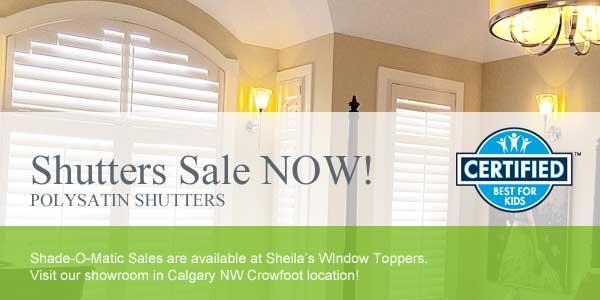 Shutter Blinds Sale Calgary