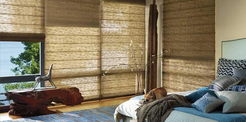 Hunter Douglas Woven Wood Shades