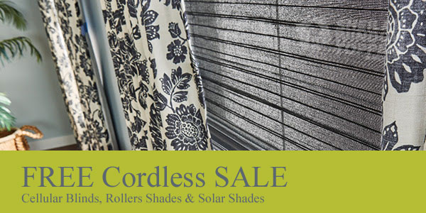 Free Cordless Blinds Sale 2021