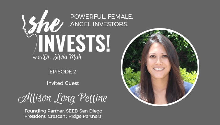 Allison Long Pettine – Managing Mindsets as an Early Stage Investor – Episode 2