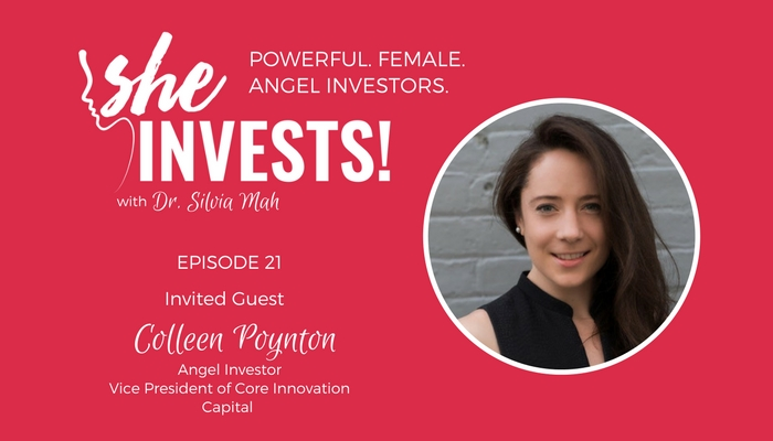 021 Colleen Poynton – The Importance of Networking and Relationship Building in Investing