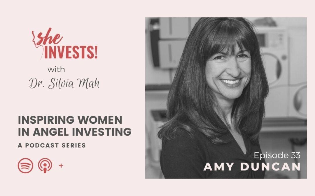 033 Amy Duncan – Inspiring Women in Angel Investing