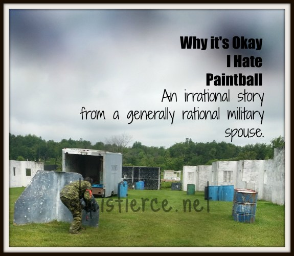 Why I hate paintball