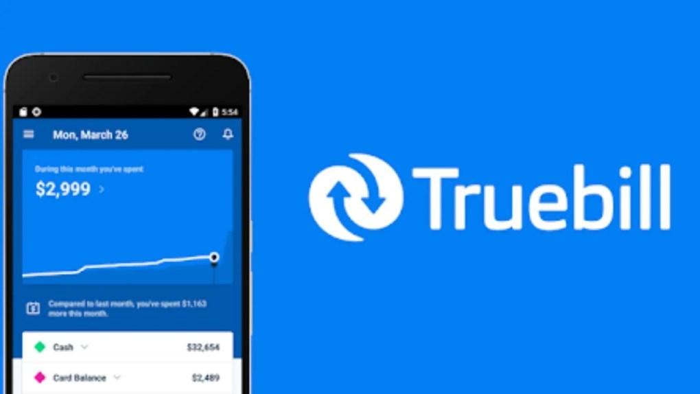 truebill saving money app
