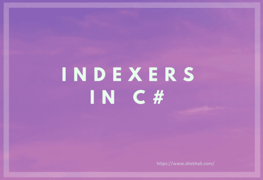 C#-Indexer
