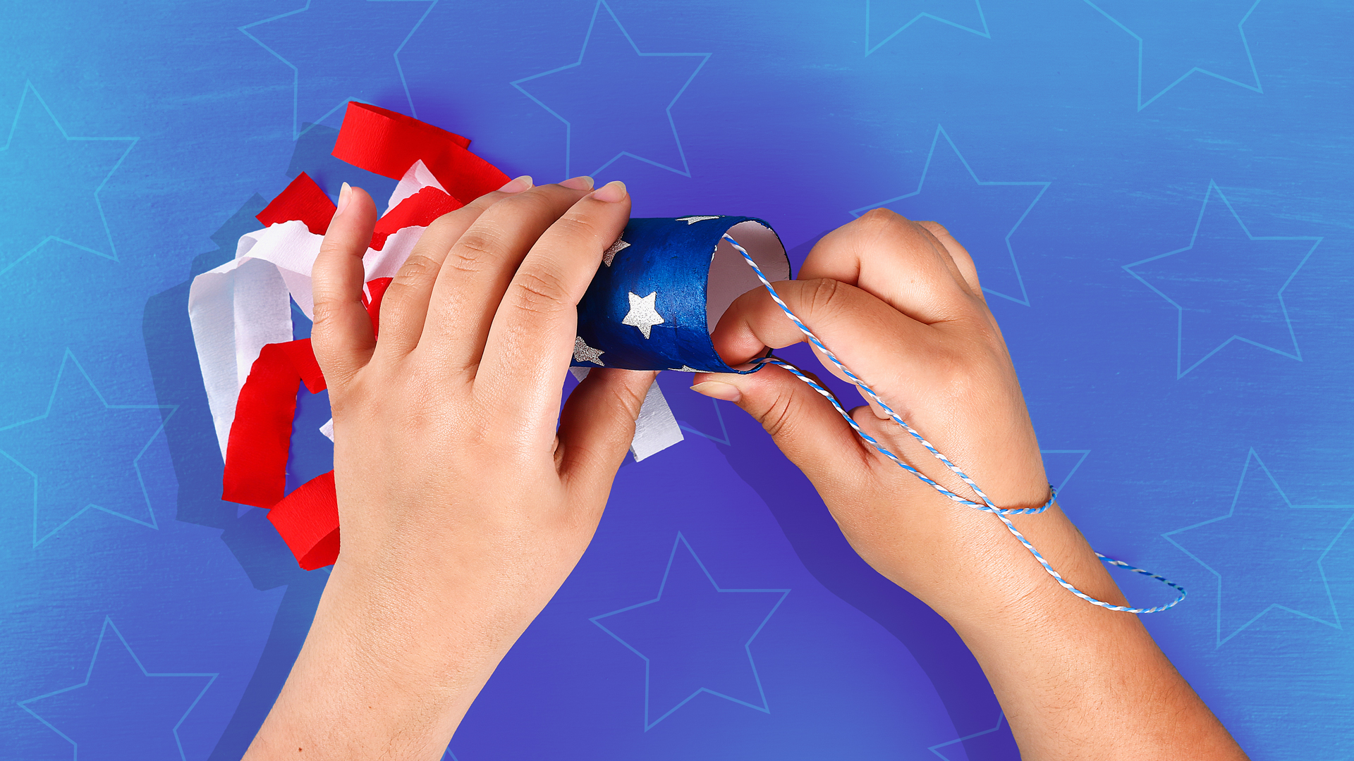 Patriotic Memorial Day Crafts For Kids Red White Amp Blue