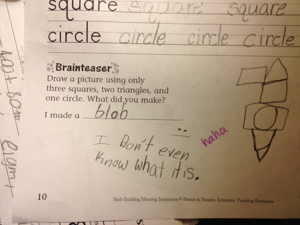 53 Hilarious Homework Answers From Kids That Are So Wrong