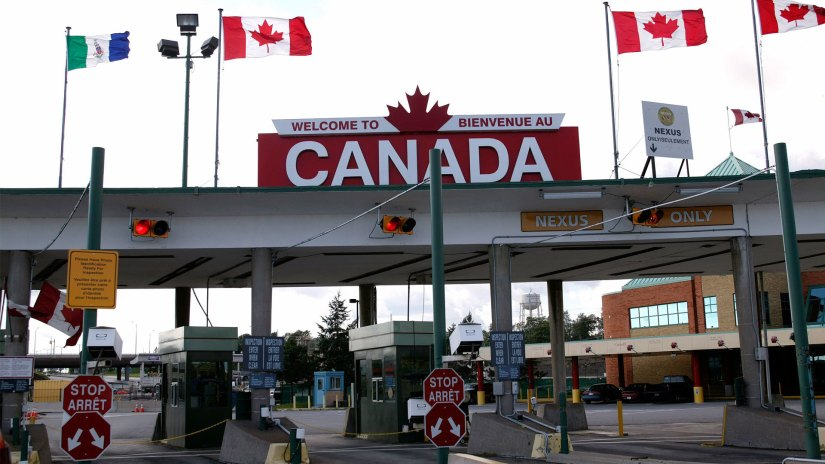 Image result for americans running to canada