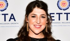 Mayim Bialik Discusses Her Breakup