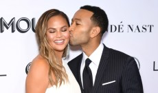 John Legend and Chrissy Teigen Spent Emmys Night in … Ohio?