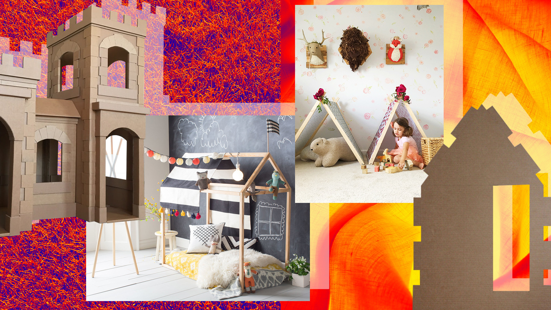 Make Being Stuck at Home Magical With These Forts 'for Your Youngsters' (*Wink, Wink*)