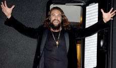 Jason Momoa Admits He 'Geeked Out' Over Meeting Julia Roberts