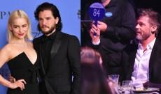 Brad Pitt Bid $120K To Watch 'GoT' With Kit Harington & Emilia Clarke