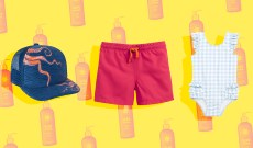 Save Your Sunscreen With This Chic & Sunproof Kid Swimwear