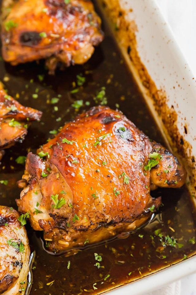 Easy Freezer Meals: Freezer Honey Balsamic Chicken