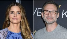Amanda Peet & Christian Slater Were Just Spotted Filming 'Dirty John' Season 2 — Here's the Scoop