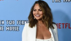 Chrissy Teigen Gets Award for Protecting Kids — & Moves John Legend's Grammys to Make Room