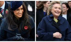 Hillary Clinton Spent an Afternoon With Meghan Markle at the Royal Frogmore Estate
