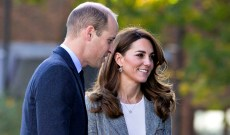 Kate Middleton & Prince William Share a Rare PDA Moment That Is Subtle Yet Super-Sweet