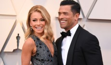 Kelly Ripa's Family Christmas Card with Mark Consuelos Is Hilarious (& Glamorous)