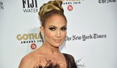 Jennifer Lopez Shares a Makeup-Free Photo, & She Might Be an Ageless Vampire