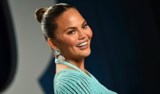 Chrissy Teigen Wishes Her Boob Job a 'Happy 10 Year Anniversary' & We're Obsessed with Her Confidence