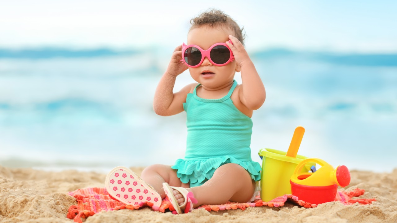 Styling Shades That'll Protect Your Baby's Eyes from UV Rays
