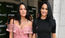 Brie & Nikki Bella Just Did a Totally Naked Twin Pregnancy Photoshoot Together
