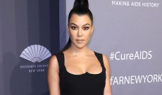 We Are All Kourtney Kardashian Reacting To Son Reign Shaving His Head