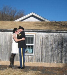 Our Wedding Day: January 23, 2010