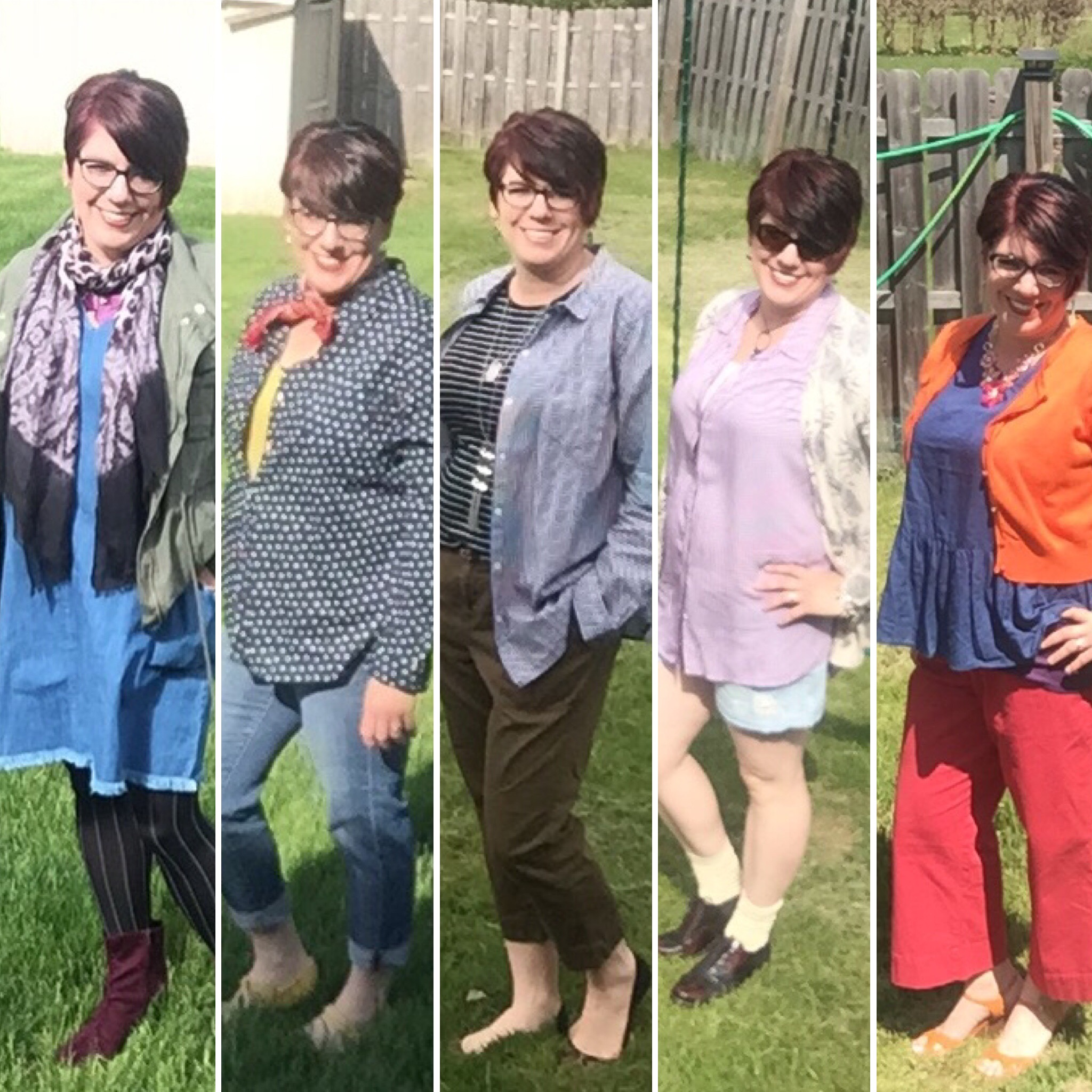 5 Days, 5 Outfits, 3 Style Challenges