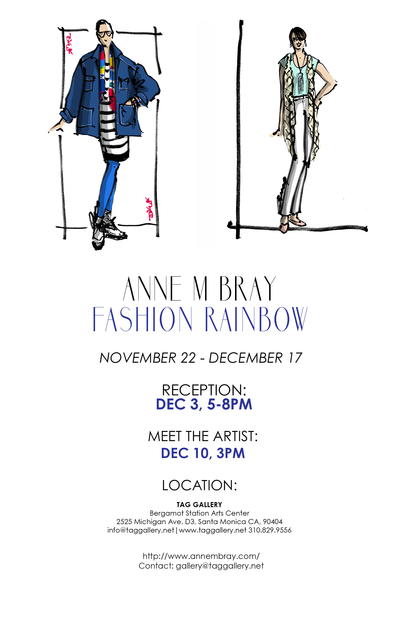 Fashion Rainbow Art Show & Link Up On the Edge #25